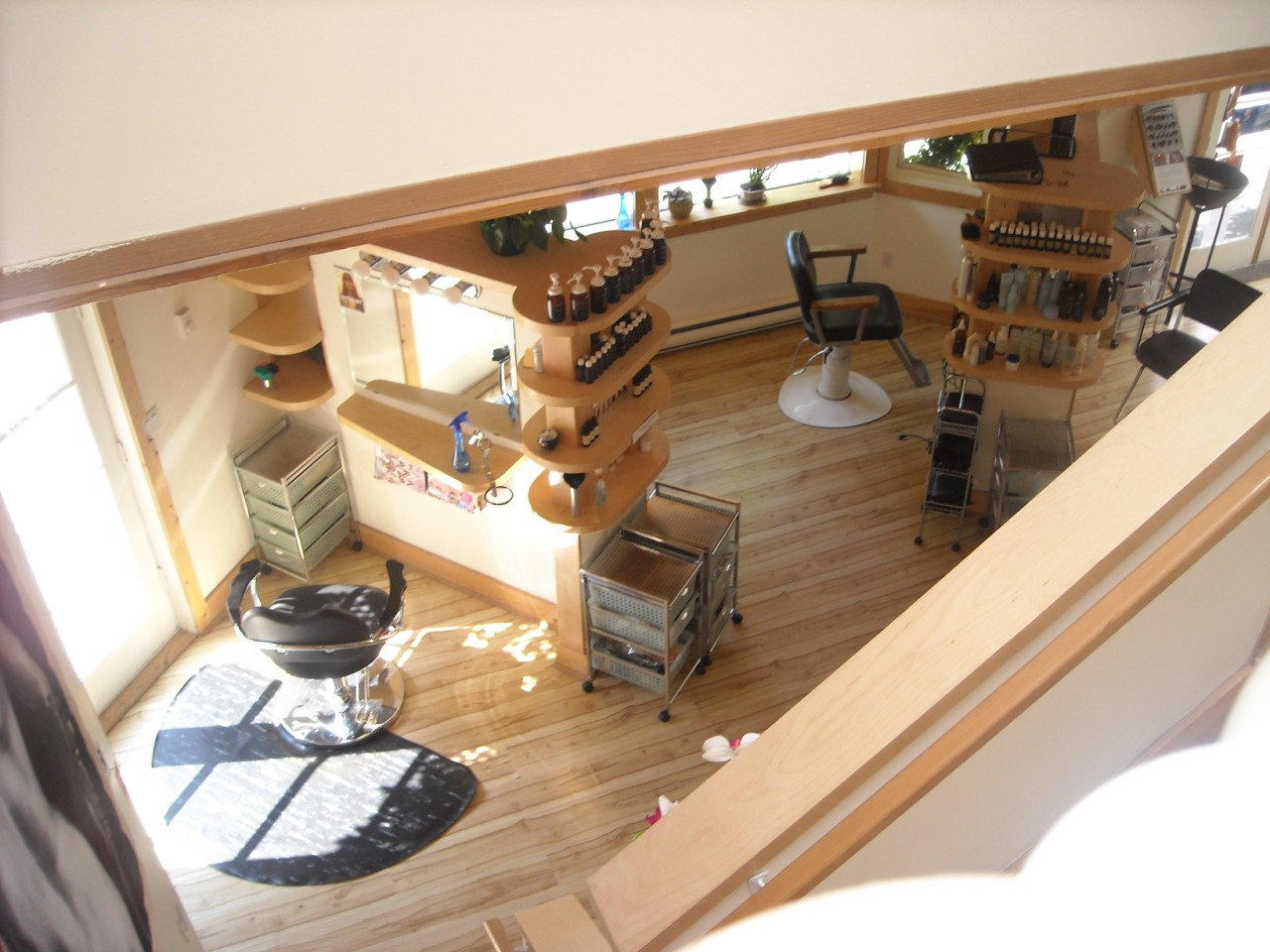 View from Above stairs