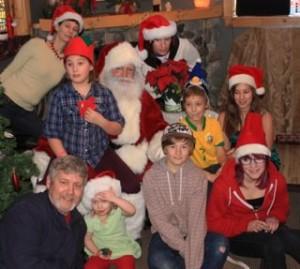 Santa at the Creekside Salon