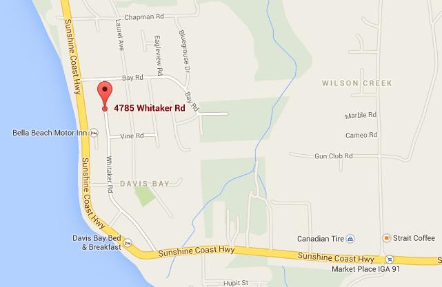google map of Creekside Salon location