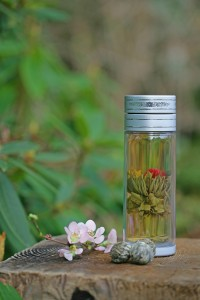 Libre glass'n poly for loose leaf tea on-the-go